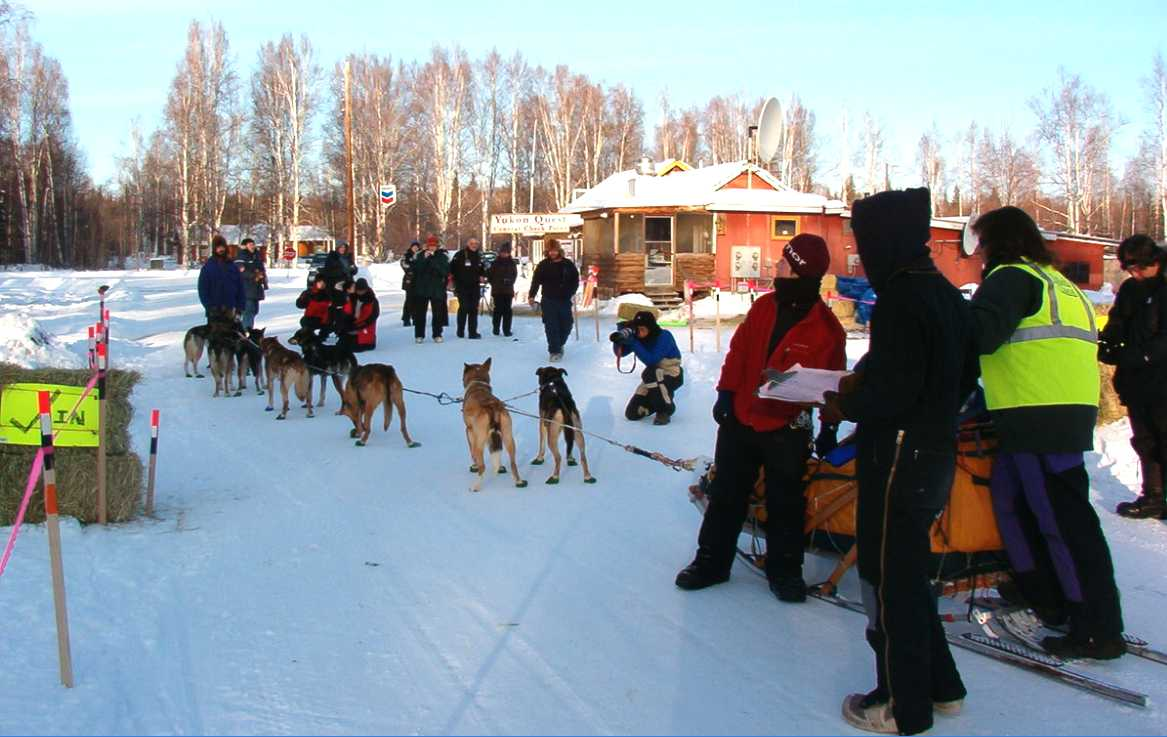 Yukon Quest Central Check Point 2010