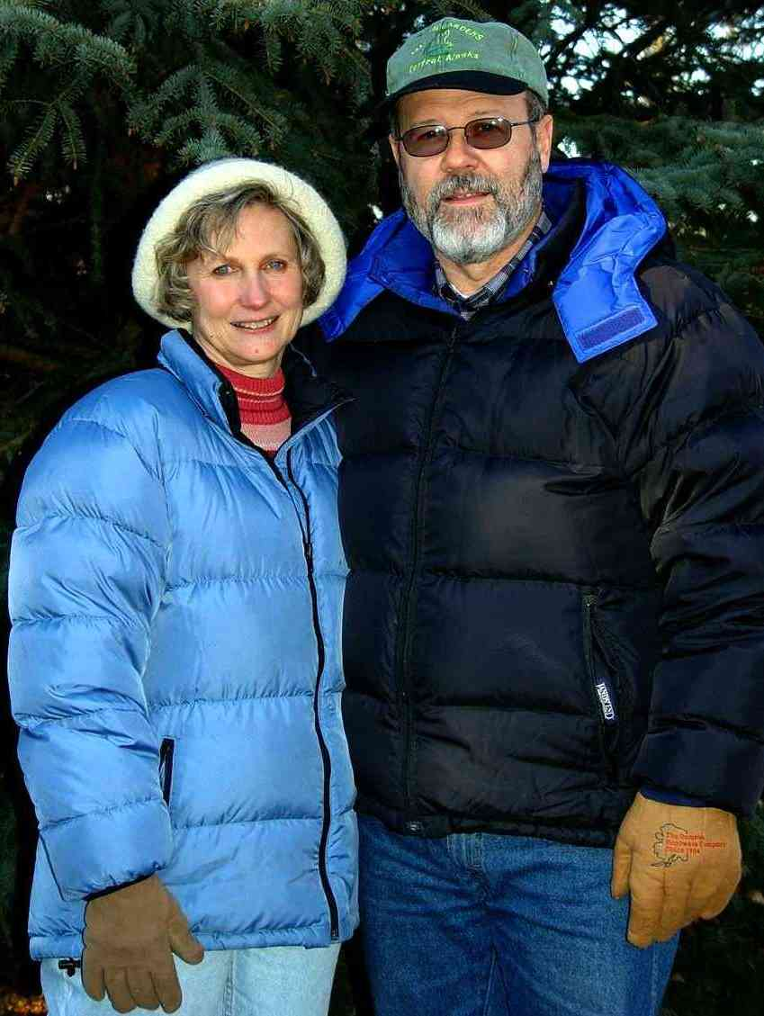 Linda and Mac  Carter in the Winter